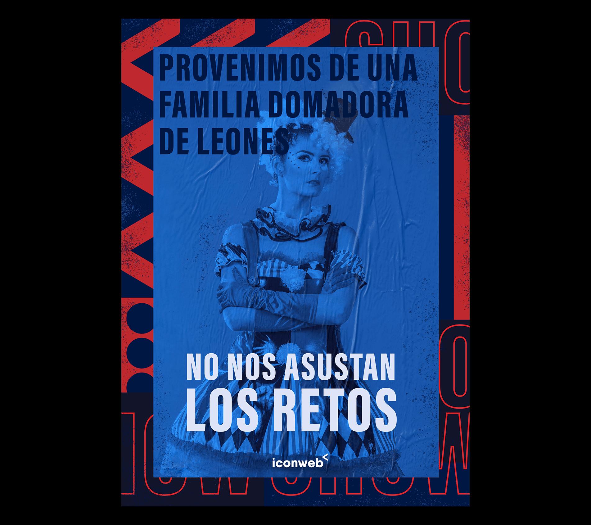 No Nos Asustan Los Retos Circus Iconweb